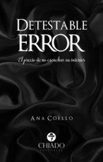 Libro Detestable error De Ana Coello